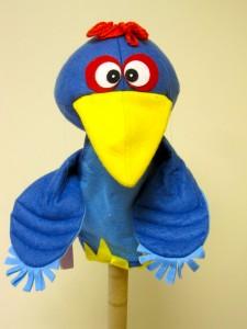 Bird 1 blue