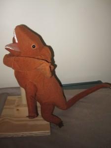 Dinosaur 4 Orange