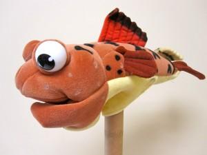 Fish Orange w/spots